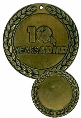 medal odlewany - admd