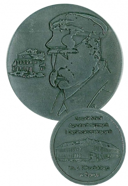 medal odlewany - Piłsudski
