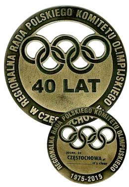 medal odlewany - PKOL
