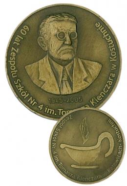 medal odlewany - Klenczar