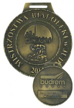 medal odlewany - judo