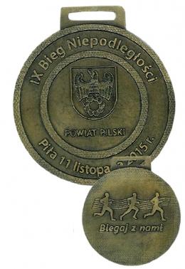 medal odlewany - dzień niepodległości