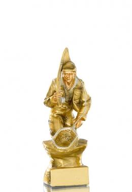 statuetka wędkarz 12542