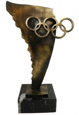 statuetka autorska koła olimpijskie