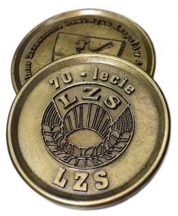 medal odlewany LZS