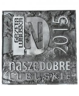 medal odlewany - Nasze Dobre Lubuskie