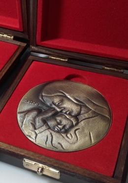 medal odlewany - Dzień Matki
