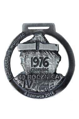 medal odlewany - 1976
