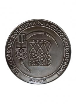 medal odlewany - Wystawa Rolnicza 2