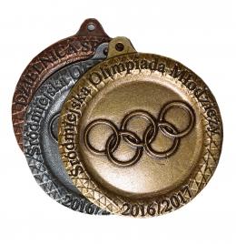 medal odlewany - Olimpiada Młodzieży