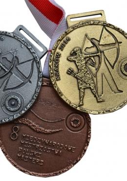 medal odlewany - Mistrzostwa Polski w Łucznictwie