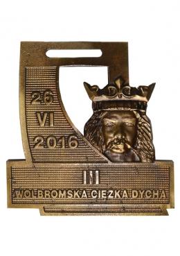 medal odlewany - Wolbrom