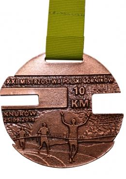 medal odlewany - Knurów