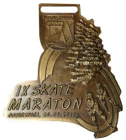 medal odlewany - Skate Maraton Osiecznica