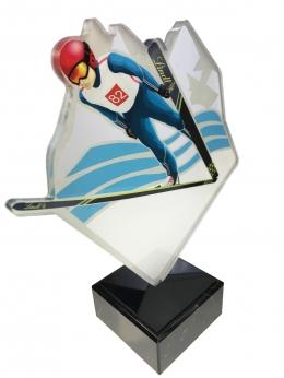 statuetka z nadrukiem UV LINDT