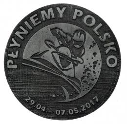 medal odlewany - wopr