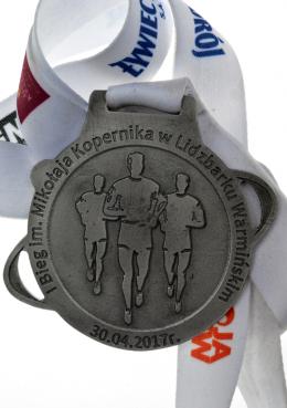 medal odlewany - Bieg im. Mikołaja Kopernika