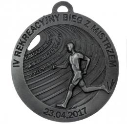 medal odlewany - bieg