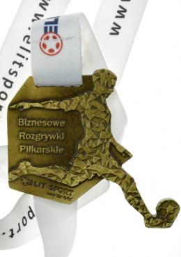 medal odlewany - piłka nożna