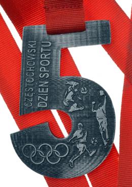 medal odlewany - dzień sportu