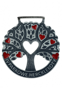medal odlewany - parkowe herclekoty