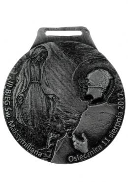 medal odlewany - Bieg Św. Maksymiliana