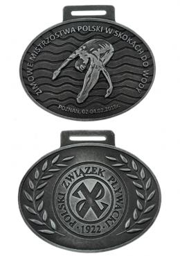 medal odlewany - Polski Związek Pływacki