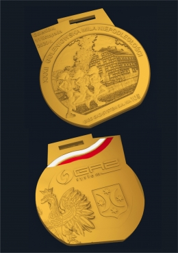 medal odlewany Niepodległość