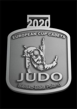 medal odlewany - Judo Bielsko