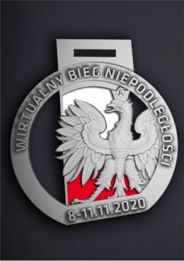 medal odlewany Niepodległości