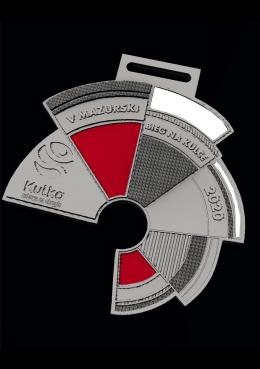medal odlewany KULKA