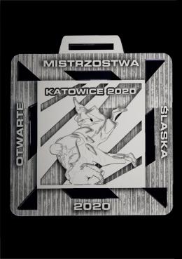 medal odlewany Judo 2