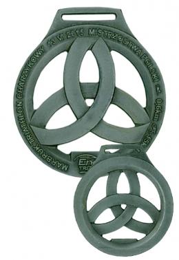 medal odlewany - triathlon